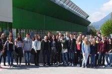2015-16 Die HAK Landeck auf Besuch bei General Electric in Jenbach