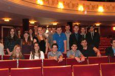 """2013-14 """"Nathan der Weise"""" ... die 2. HAK besuchte das Landestheater"""