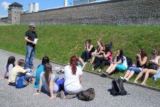 2013-14 Besuch der KZ-Gedenkstätten Mauthausen und Hartheim