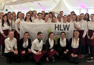 2018-19 Die HLW Landeck war beim WC-Auftakt in Sölden mit dabei