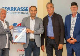 2018-19 Die HAK Landeck erhält den Förderpreis 2018 der Sparkasse Imst