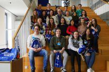 2016-17 HAK-Exkursion zu inet logistics nach Vorarlberg