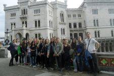 2015-16 Die 3. Klassen der HLW Landeck verbrachten eine Woche in Triest