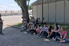 2016-17 Eine Exkursion der 3. HLW zur KZ-Gedenkstätte Dachau