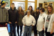 2014-15 die 2. HAS besuchte Sozial- und Freiwilligeneinrichtungen