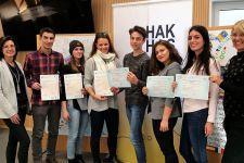 2017-18 Sprachzertifikate an HAK-Schüler/innen übergeben