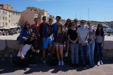 2015-16 Die 3. HAK verbrachte die Sprachwoche in Cannes/Frankreich