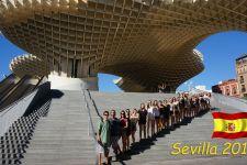 2016-17 Die 5. Klassen der HAK und der HLW Landeck in Spanien