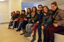"""2014-15 Ausstellungs-Besuch der 4HWB von """"LebenErleben"""""""