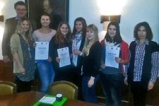 2014-15 Drei HLW-Schülerinnen auf Russisch-Sprachtraining in NÖ