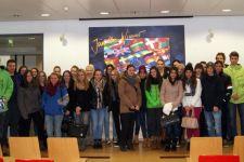 2014-15 Exkursion der 5. HAK zu LKW-Walter in Kufstein