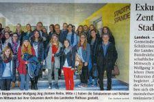 2014-15 Exkursion der 5. HLW zum Rathaus Landeck