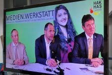 """2017-18 Offizielle Eröffnung der """"Medien.Werkstatt"""" an der HAK/HAS Landeck"""