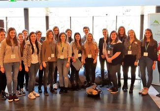 2018-19 Die HLW Landeck nahm am EUSALP-Kongress 2018 in Innsbruck teil