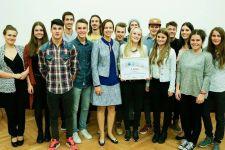 2015-16 Die HAK Landeck gewinnt den internationalen Videobewerb des BM:FJ