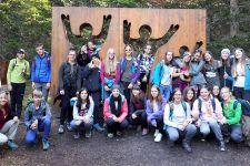 2017-18 Spannende Tage der 1. HLW-Klassen in Serfaus