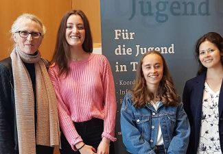 2018-19 Ein 3. und ein 4. Platz beim Finale des Landesjugend-Redewettbewerbes 2019