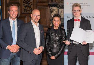 2019-20 HAK Landeck stellt Landes- und Bundessieger beim IT-Wettbewerb