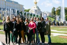 2014-15 Die HLW Landeck war in St. Petersbrug in Russland
