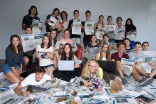 """2016-17 Projekt """"Jugend - Zeitung - Wirtschaft"""" der Zeitschrift """"Presse"""""""
