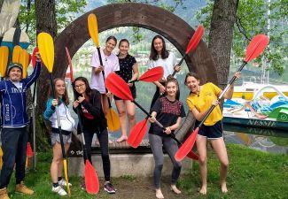 2018-19 Eine coole Sommersportwoche der HAK/HAS Landeck in Kärnten