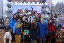 2014-15 Die 4. HLW zu Gast beim ZDF-Fernsehgarten in St. Anton