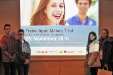 2016-17 Die 3. HAS besuchte die Freiwilligenmesse Tirol in Innsbruck