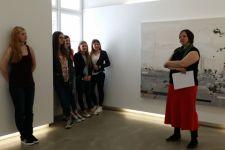 """2014-15 SchülerInnen der 3. HLW im""""BTV FO.KU.S Foto Kunst Stadtforum: Edward Burtynsky"""""""