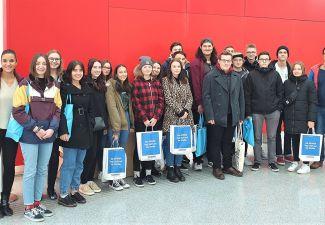 """2019-20 Die HAK Landeck besuchte die """"Gewinn-Info-Days"""" in Wien"""