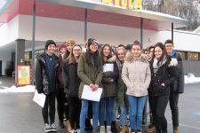2017-18 Exkursion der 1KS zu Billa in Landeck
