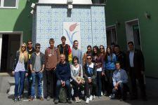 2013-14 Besuch der 3BK in der Moschee in Telfs
