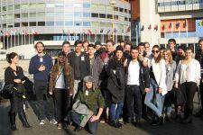 """2016-17 Die 5. HAK besuchte den """"Gewinn-Info-Day"""" in Wien"""