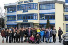 2016-17 Exkursion der 5. HAK-Klassen zu LKW-Walter